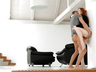 Порно русская госпожа кончает в рот рабу
